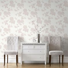 New England Rose Stone Wallpaper | Graham  Brown