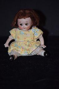 Vintage Doll Bisque Googly By Linda Cheek Dollhouse Siz (item #1267516)