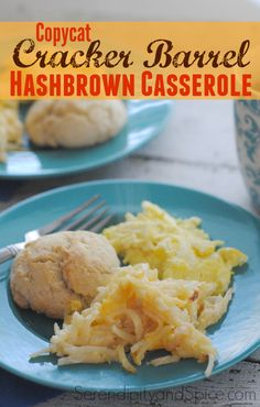The best copy cat recipe I have made! This copycat Cracker Barrel hashbrown casserole recipe is easy to make and always a hit! You'll never guess what the secret ingredient it!