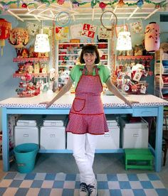 craft room~The amazing Jenny B from All sorts:)