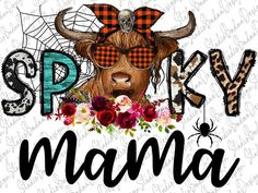 Halloween Design, Halloween Shirt, Fall Halloween, Happy Halloween, Cow Png, Bead Art, Project Ideas, Projects, Framed Prints