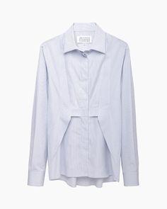 Maison Martin Margiela Line 1 / Trompe L'oeil Pleated Shirt #pf14