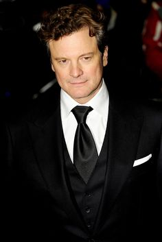Colin Firth.  Loved him ever since Mr. Darcy from Pride and Prejudice.