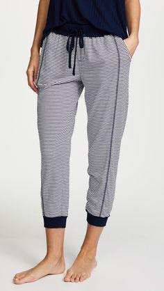 Splendid Always Stripe Crop PJ Pants | SHOPBOP