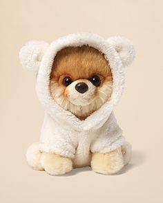 Gund Itty Bitty Boo Dog & Bear Suit