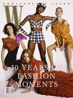 3 Decades of Naomi Campbell: See the Supermodel's Best Moments in W Magazine Photos | W Magazine