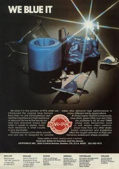 Kryptinics ad from Skateboard! magazine, 1978