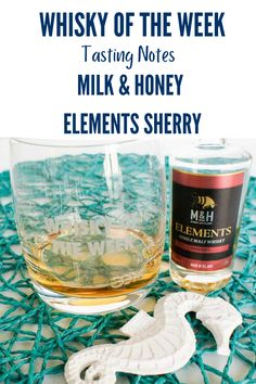 Review and Tasting Notes for the Milk & Honey Elements Sherry Cask whisky Whisky Tasting, Milk And Honey, Notes, Report Cards, Notebook