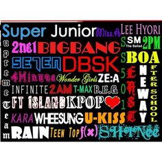 Official K-Pop Thread ❤ liked on Polyvore featuring kpop
