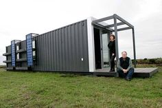 Steel Container Home.