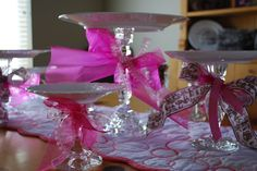 d.i.y. cake stands