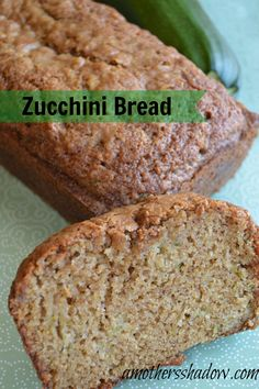 Moist and Tender #Zucchini Bread at AMothersShadow.com