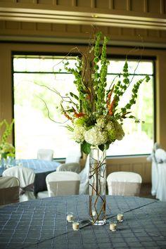 Tall centerpiece for Wedding