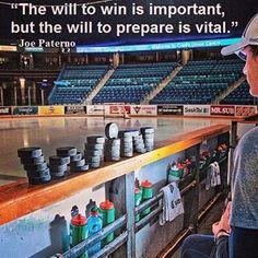 Preparation is the key. #motivation #inspire #hockey #hockeylife #win HOCKEYBOXCLUB.COM