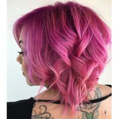 Arctic Fox Hair Color. #pink #pinkhair