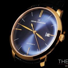 The watchesTV reviews the #girardperregaux blue dial. Watch the vidéo at http://www.thewatches.tv/en/editorial/about-the-girard-perregaux-1966-blue-dial/ #womw #wotd #watches #blue #time #timepieces #elegance #uhr #uhren #reloj #relogio #montre #automatic #swisswatches #luxurywatches #luxury #menstyle #horology #horlogerie #hautehorlogerie