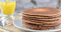 Sourdough Buckwheat Pancakes - Nutrition Studies Plant-Based Recipes