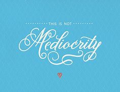 A piece by todd_foshee via abduzeedo typography mania 126