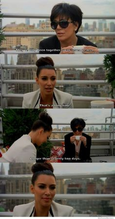 Burned by her own mother. Kim's face though