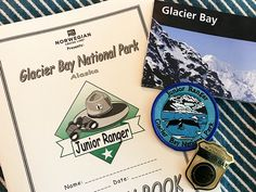 Glacier Bay National Park Junior Ranger Badge on your Alaska Cruise Alaska National Parks, Glacier Bay National Park, California National Parks, Girl Scout Activities, Activities For Girls, Book Activities, Alaska Cruise, Alaska Travel, Assateague Island National Seashore