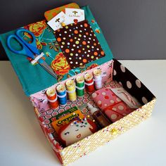 handmade sewing kit