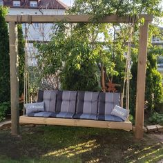 Ist aus Kesseldruckimpregnierten Holz gebaut. Lebensdauer vom Holz mind 15 Jahre. Gebaut von #diehandwerker.at Porch Swing, Outdoor Furniture, Outdoor Decor, Bali, Sweet Home, Home Decor, 15 Years, Swings, Amazing