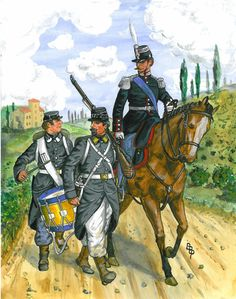 Sardinian Infantry 1859 By Bruce Bassett-Powell www.uniformology.com
