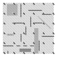 GRID: Axonometric drawing interpreting the typewriter generated field from Archizoom's No Stop City Axonometric Drawing, Grid, Building Drawing, Typewriter, Architecture Art, Drawings, Landscape, Studio, City