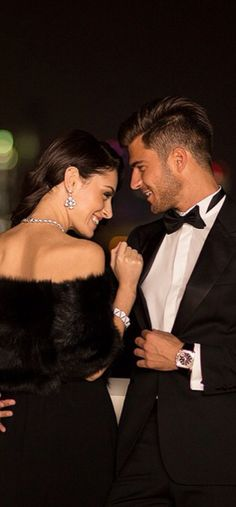 Black Tie And Diamonds ♚★Enchanted Evening♚★ San Gil, Nicholas Sparks, Glamour, Innocent Love, Some Enchanted Evening, Classy Couple, Stylish Couple, A Night To Remember, Black Tie Affair