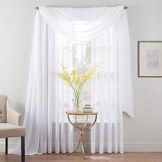Smart Sheer™ Insulated Linen Voile Sheer Window Treatments