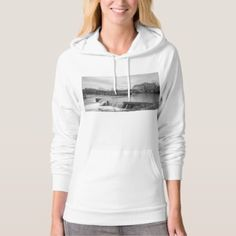 Spring Day At Ozark Mill Grayscale Hoodie - spring gifts style season unique special cyo