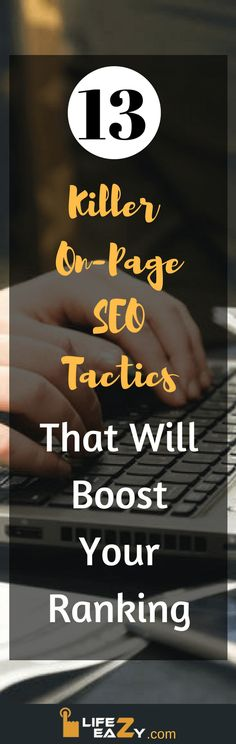 If you are looking for the right On-Page SEO 2017 techniques, then this article is for you. I have ranked my articles on the 1st page of Google by following these tactics. You can also download free On-Page SEO checklist which you can find with this article