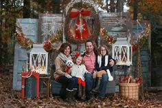 Christmas Minis! » Kim Deloach Photography Old Doors outside as backdrop....can be dressed up for many photo mini sessions
