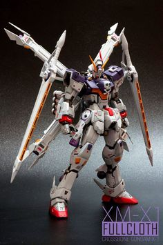 Recently uploaded with full photoshot in his Facebook album, we got a brand new remodeled of MG Gundam Crossbone XM-X1 Full Cloth by JGa...