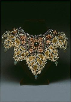 Laura McCabe bead embroidery