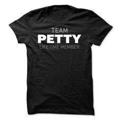 Team Petty T Shirts, Hoodies, Sweatshirts. GET ONE ==> https://www.sunfrog.com/Names/Team-Petty-bwimw.html?41382
