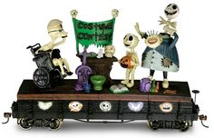 The Nightmare Before Christmas On30-Scale Train Car: 'Dr. Finkelstein's Costume Contest' ($79.99)