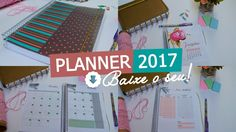 PLANNER 2017 PARA DOWNLOAD!