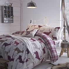 Another Catherine Lansfield stag design for AW14 - currently on show in our Homestore. McEwens of Perth