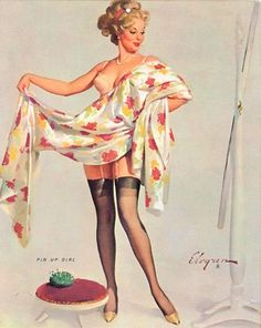 Gil Elvgren - The greatest pinups designer of the 20th century!