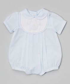 Loving this Blue Sailboat Bubble Bodysuit - Infant on #zulily! #zulilyfinds