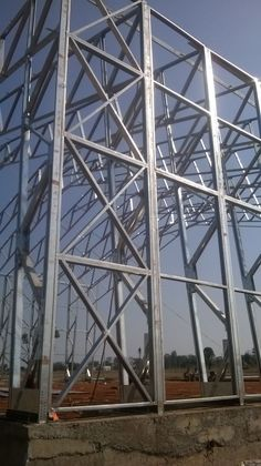 How high can we go with light weight steelframe?