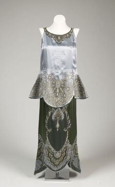 Evening Ensemble  Callot Soeurs  c.1911-1912  Fine Arts Museums of San Francisco