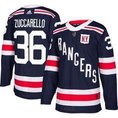 adidas Men's 2018 Winter Classic New York Rangers Mats Zuccarello #36 Authentic Pro Home Jersey, Team