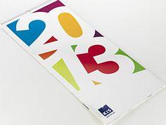 #Bindakote #Favini #Calendar 2013 Kis-Arredo Plast / Design: White, Red & Green http://www.whiteredgreen.net - Find more on #Bindakote http://www.favini.com/gs/en/fine-papers/bindakote/features-applications/
