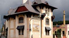 Raabova vila od slavného architekta Jurkoviče - Sedláčkova 434, Písek