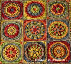 Circles of the Sun Gallery - LillaBjörn's Crochet World