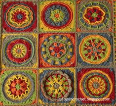 Circles of the Sun Gallery - LillaBjörn's Crochet World