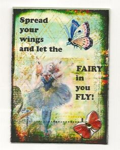 Let yourself fly...