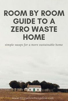 I've whipped up a simple room by room guide to a zero waste home which should make transitioning to a plastic free lifestyle easy as pie! waste living home room by room guide to a zero waste home - tiny yellow bungalow Zero Waste Home, No Waste, Reduce Waste, Green Life, Go Green, Waste Reduction, Eco Friendly House, Eco Friendly Cars, Simple Life Hacks